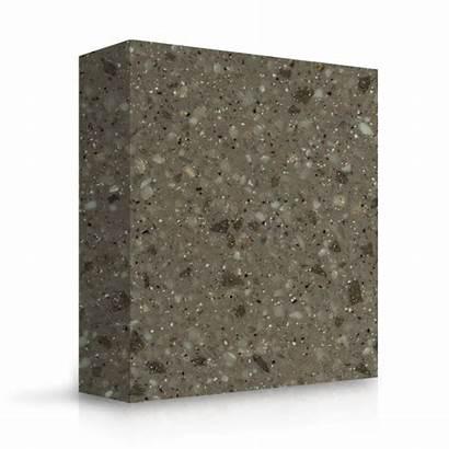 Granite Cinder Meganite Solid Surface Sample