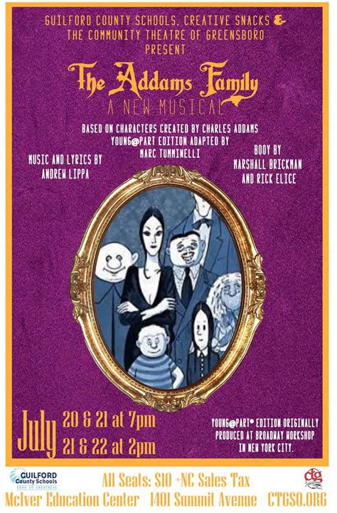 addams family young atpart community theatre