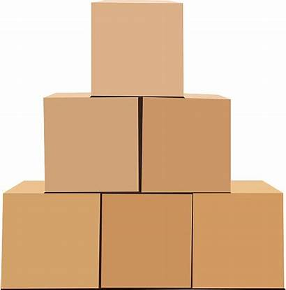 Cardboard Boxes Pyramid Moving Clipart Isolated Clip