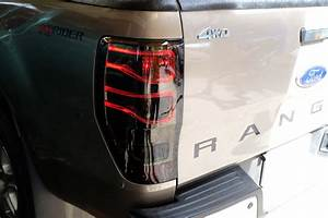Smoke Lens Set Led Ccfl Tail Lamp Light For Ford Ranger