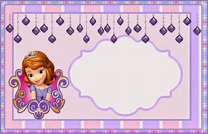sofia the first party invitation template sofia the first With sofia the first free invitation templates