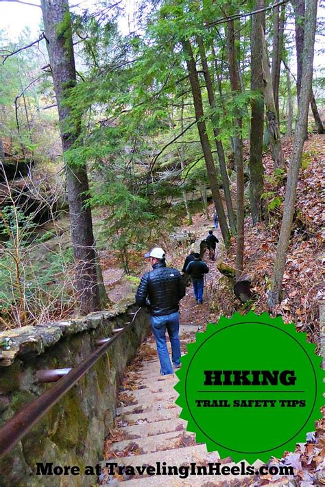 Hiking Trail Safety Tips Hiking trails Holiday travel