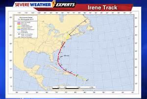 Hurricane Irene Track 2011