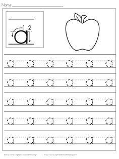 letter tracing worksheets letters    images