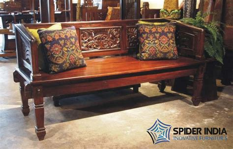 Antique Wooden Sofa by Antique Wooden Carved Sofa Manufacturer In Jodhpur