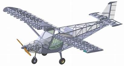 Solidworks Kit Airplane Zenith Cessna Aircraft Cad