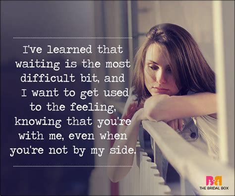 Waiting Too Long Love Quotes