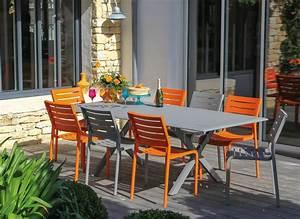 Salon De Jardin Couleur : salon de jardin en couleur bricolage maison et d coration ~ Teatrodelosmanantiales.com Idées de Décoration