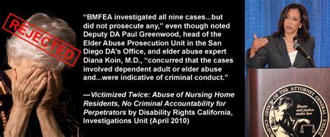 elder abuse  nursing homes condoned  corrupt