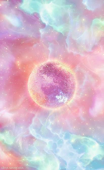 Aesthetic Backgrounds Pretty Wallpapers Kawaii Shvecova Galaxy