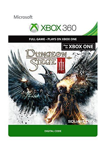 dungeon siege 3 codes dungeon siege iii xbox 360 xbox one digital code