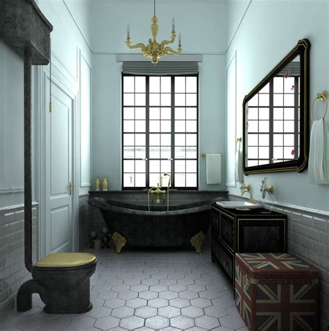 Trendy Bathroom Design Ideas Combined With White Color