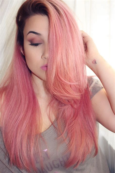 Mauve Pink Hair Ion Demi Permanent Smoky Pink