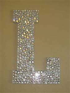 gorgeous floral monogram monograms pinterest the With large rhinestone letters for wall