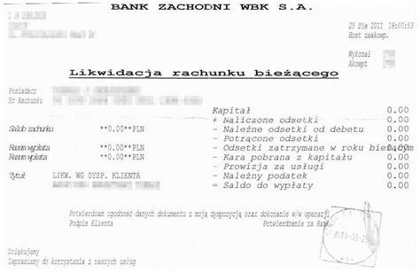 Jak Zamknąć Konto W Santander Bank (dawny Bz Wbk