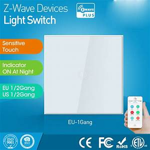 Z Wave Rolladen : eu version one gang z wave wall light switch sensor smart ~ Lizthompson.info Haus und Dekorationen