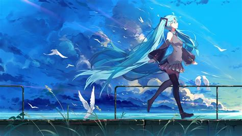 Home screen anime wallpaper hd for android. Hatsune Miku Wallpaper Widescreen > Minionswallpaper