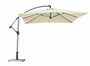 Parasol Déporté Carré : parasol i aluminium ~ Mglfilm.com Idées de Décoration
