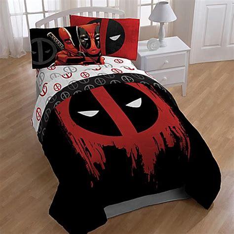 7080 marvel size bedding marvel deadpool size 5 pc bed set comforter sheets