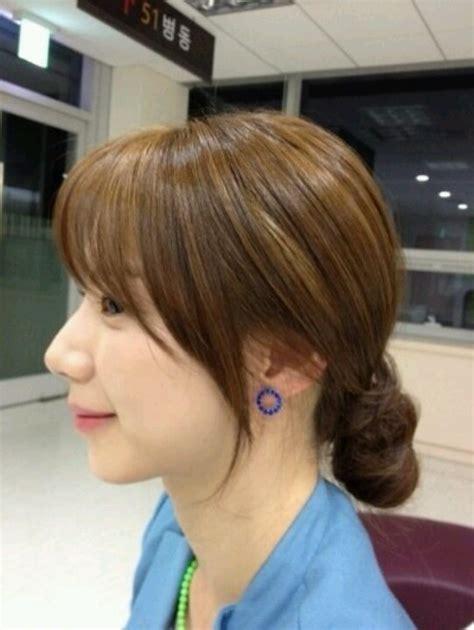 bang hair side beauty hair asian