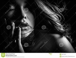 Fille Noir Et Blanc : visage noir et blanc de fille stock images 43 648 photos ~ Melissatoandfro.com Idées de Décoration
