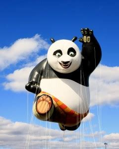 kung fu panda balloon  macys thanksgiving day