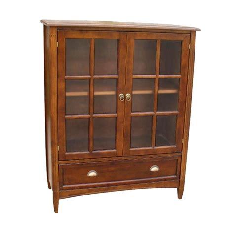 bookcase  glass door  wayborn  bookcases