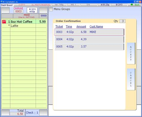 drive  coffee shop features sp   selbysoft pos system