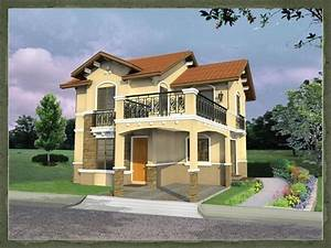 Home Designs Ideas: Modern Two Storey House Design ...