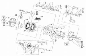 Abu Garcia 6000 Parts List And Diagram