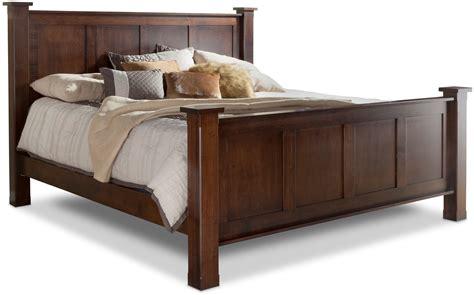 daniel s amish furniture treasure king bed w std height footboard by daniel 39 s