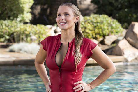 Cloth Sweater Swimsuit Dress Bikini Cleavage Women, #Kristen Bell, #Blonde, #Cleavage, #Wet Stockings