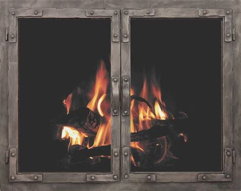 stoll craftsman collection  world fireplace doors