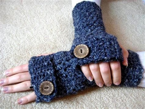crochet fingerless gloves 48 marvelous crochet fingerless gloves pattern diy to make