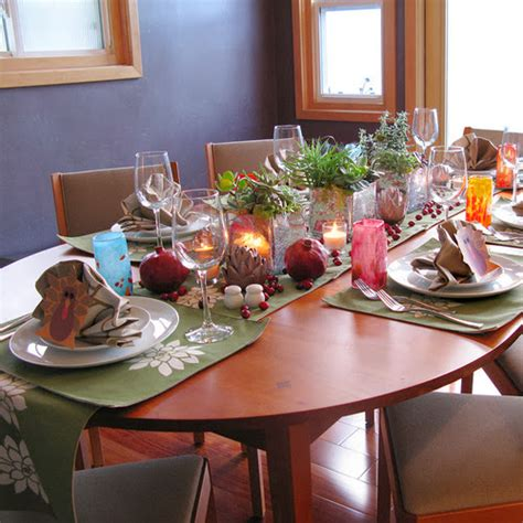 Tabletop Inspiration by Modern Furniture 2013 Thanksgiving Tabletop Inspiration