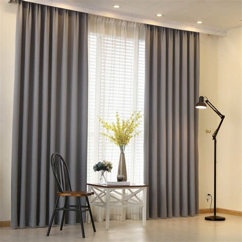 plain curtains for bedroom aliexpress buy modern curtain plain solid color