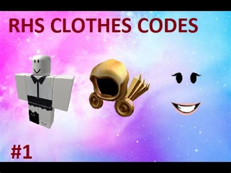 Rhs Clothing Codes For Girls 4 Roblox Highschool