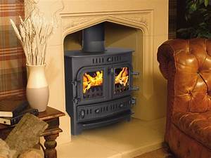 Pot belly wood stove on Custom-Fireplace. Quality electric ...
