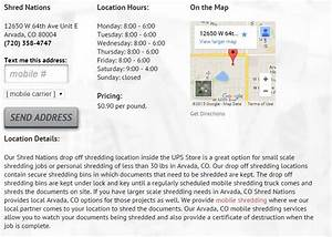 shred nations drop off shredding location results page With drop off document shredding near me