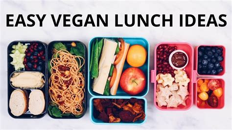easy cing lunch ideas easy vegan lunch ideas bento box youtube