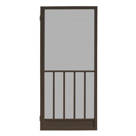 screen door home depot unique home designs 32 in x 80 in coronado bronze