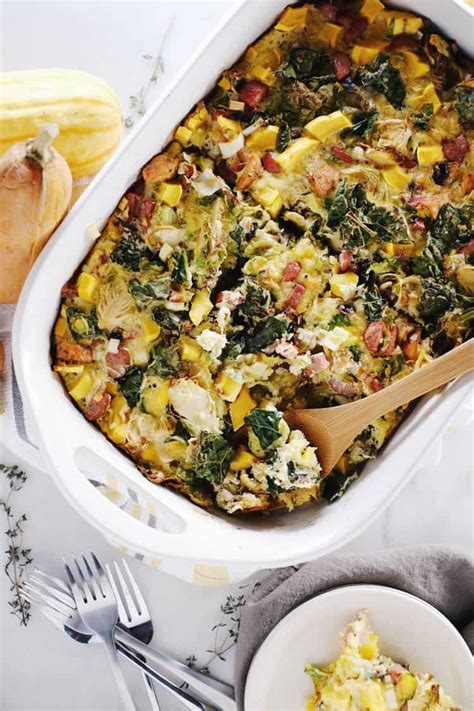 autumn breakfast casserole paleo  keto
