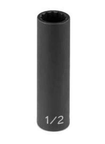"""Grey Pneumatic 1116d 3/8"""" Drive X 1/2"""" 12 Point Deep"""