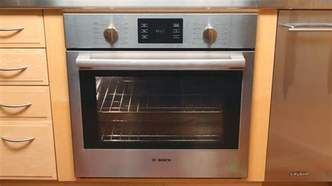 bosch  series convection wall oven youtube