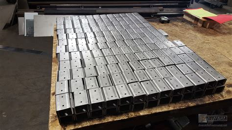 fabrication of custom sheet metal products miscellaneous items