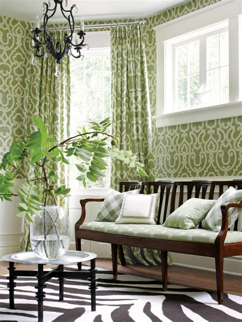 ways  decorate  green moss hgtv