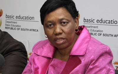 Basic education minister angie motshekga said schooling will not resume on 4 may in light of the basic education minister angie motshekga has concluded a meeting with cabinet on sunday. SA: Basic Education Minister Angie Motshekga to Release 2013 NSC Matric Examination Results ...