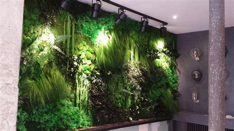 mur de verdure interieur mur vegetal interieur