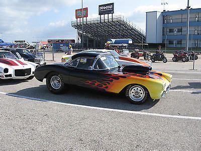 corvette bracket drag race car hotrods pinterest