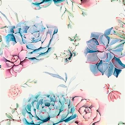 Floral Succulents Removable W1080
